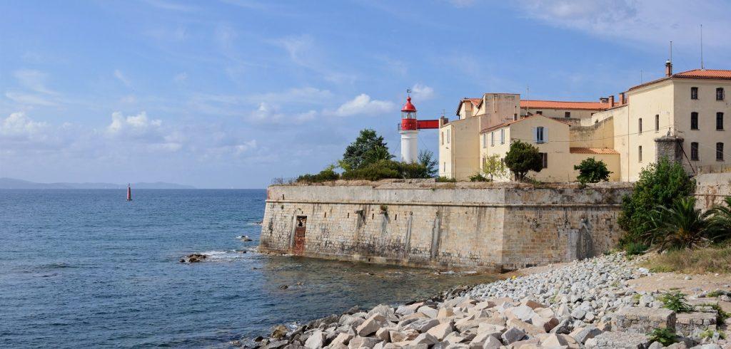 Phare de la Citadelle d'Ajaccio, Corse-du-Sud, France